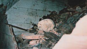 l'ossuaire du Valle - photo rare donnee par Pablo Linares