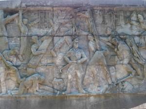 Sculpture sur les Stèles