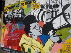 """Street art photography: """"Know Your Right"""". Harlem, New York City, October 2013. © Christine Dualé"""