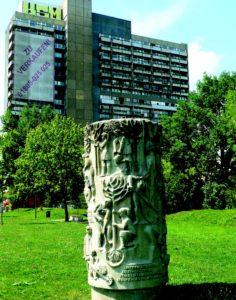 Aufbauhelfer, Rudolf Hilscher, 1975, Halle-Neustadt.