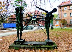 Der Mensch und die Strahlung, Ingeborg Hunzinger, 1968, Berlin-Köpenick.